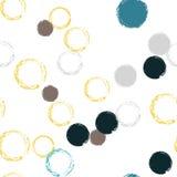 Polek kropek bezszwowy deseniowy pastel ilustracji