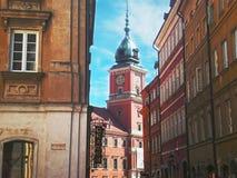 Polen arkitektur Arkivbilder