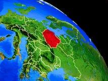 Polen auf Planet Erde lizenzfreie abbildung