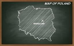 Polen auf Tafel Lizenzfreies Stockbild
