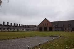 Polen, Auschwitz-Concentratiekamp Royalty-vrije Stock Afbeelding