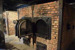Polen, Auschwitz-Concentratiekamp Stock Foto's
