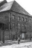 Polen-- Auschwitz-Nazi-Konzentrationslager Stockbild