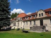 Polen barockslott Arkivfoton