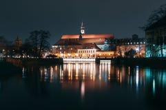 Polen, Breslau, Ossolineum-Nationalbibliothek Lizenzfreies Stockfoto