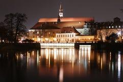Polen, Breslau, Ossolineum-Nationalbibliothek Stockfoto