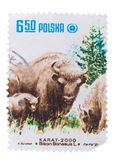 POLEN - CIRCA 1981: Ein Stempel gedruckt in der Showreihe von lizenzfreie stockbilder