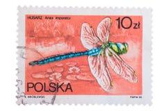 POLEN - CIRCA 1983: Ein Stempel gedruckt in Shows Kaiser DRA Stockfotografie