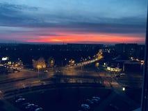 Polen eftermiddag arkivfoton