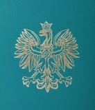 Polen emblem royaltyfri fotografi