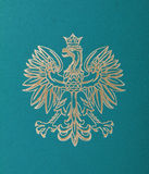 Polen-Emblem Lizenzfreie Stockfotografie