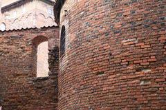 Polen gammal slott Nidzica Arkivbild