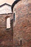 Polen gammalt slott Nidzica Arkivbild
