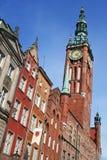 Polen. Gdansk-Stadt. Rathaus Lizenzfreie Stockbilder