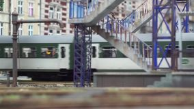 Polen, Gliwice, de Miniatuur van 12/01/2019 van steden in Kolejkowo stock footage