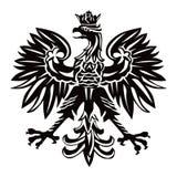 Polen-Hoheitszeichen Stockfoto