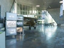 POLEN - JULI, 2015: Tentoonstellingsvliegtuig in Royalty-vrije Stock Fotografie