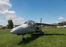 POLEN - JULI, 2015: Tentoonstellingsvliegtuig in Royalty-vrije Stock Foto's