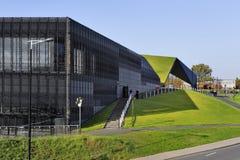 Polen Katowice, övreSilesia - internationellt komplex för kongressmitt Fotografering för Bildbyråer