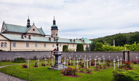 Polen - Kloster in Czerna Stockfotografie