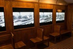 POLEN KRAKOW - MAJ 27, 2016: Utställning på temat av livKrakow folk under det andra världskriget Royaltyfri Foto