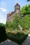 Polen Ksiaz slott Fotografering för Bildbyråer