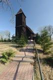 Polen (Lager Silesië) - landkerk Royalty-vrije Stock Foto