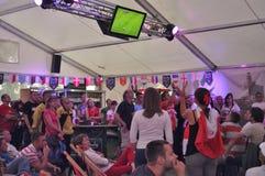 Polen lockert EURO 2012 auf Stockbilder