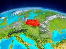 Polen på jord Royaltyfri Fotografi