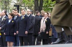 Polen politiska ledare Royaltyfri Foto