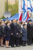 Polen politiska ledare Arkivbild