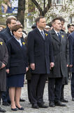 Polen politiska ledare Fotografering för Bildbyråer