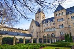 Polen, Poznan - alter Stadtmarkt-Brunnen Lizenzfreies Stockfoto