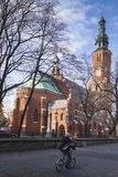 Polen Radom, St John Baptist Church royaltyfria foton