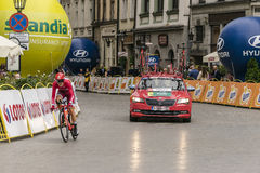Polen-Rundfahrt 2016 Stockbilder
