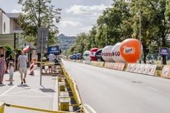 Polen-Rundfahrt 2017 Stockfotografie