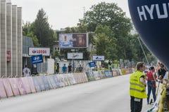 Polen-Rundfahrt 2017 Stockfotos