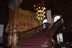 Polen-Schloss in Moszna Lizenzfreies Stockfoto