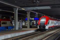 POLEN - TRANSPORT - MODERNER ZUG Stockfoto