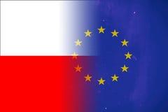 Polen und Europäische Gemeinschaft Lizenzfreie Stockfotografie