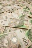 Polen valutazloty - PLN Fotografering för Bildbyråer