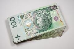 Polen valutazloty - PLN Arkivfoton
