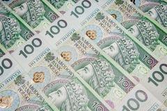 Polen valutazloty - PLN Royaltyfri Bild