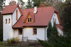 The Polenovo museum. An old house. The Polenovo museum. A small old house in european style Stock Photo