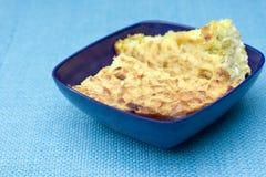 polenta расстегая лук-порея Стоковое Изображение RF