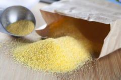 polenta сырцовый стоковое изображение