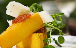 Polenta Royalty Free Stock Photography