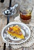 Polenta cake Stock Image