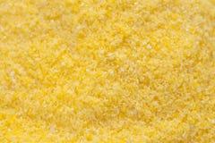 Polenta d'ingrédients de nourriture   fond de haricots Photos stock