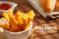 Polenta fries Royalty Free Stock Photography